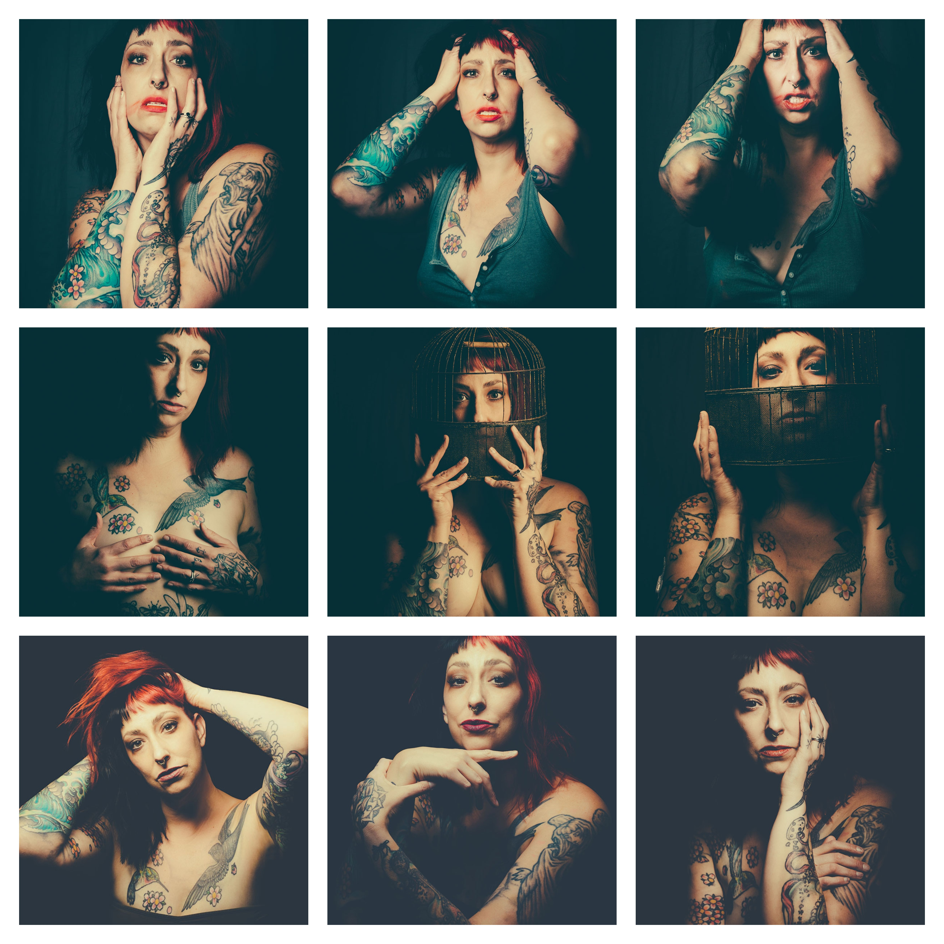 woman, body image issues, healing through photography