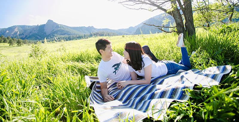 engagement photography,chautauqua park